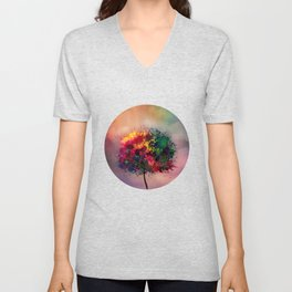 Love in Fall Unisex V-Neck