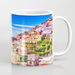 Colorful Positano Italy Coffee Mug