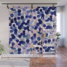 Gracie Spot Pale Purple Wall Mural