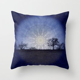 Celestial Clockwork Throw Pillow