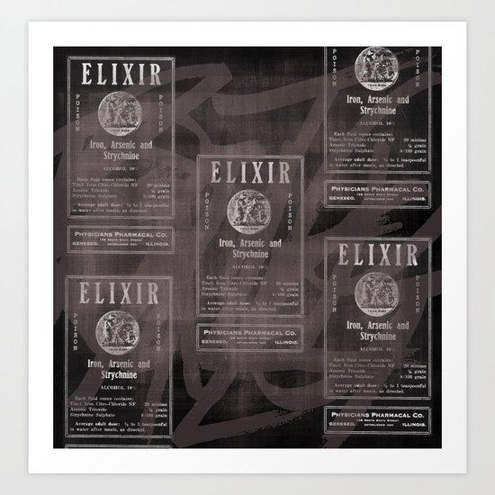 Elixir. Art Print