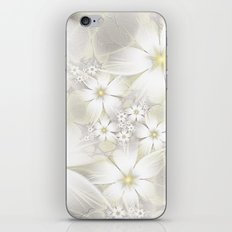 WHITE FLOWER - FIORI BIANCHI iPhone & iPod Skin
