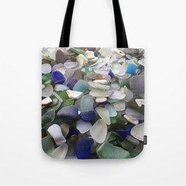 Sea Glass Assortment 5 Tote Bag