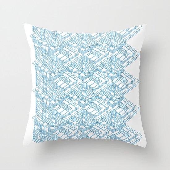 High Rise Throw Pillow