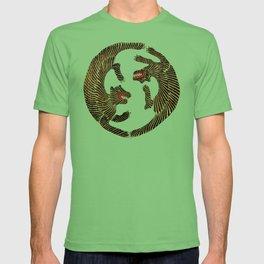 Vintage Japanese Tiger design T-shirt