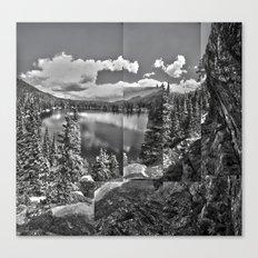 Bear Lake collage Canvas Print