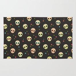 Sugar Skulls pattern  Rug