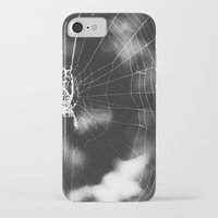 tangled iPhone & iPod Cases featuring Tangled by Christine Hall