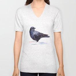 Crow #3 Unisex V-Neck