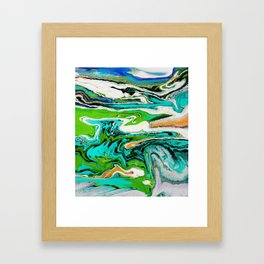 zing Framed Art Print