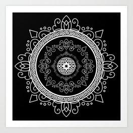 Celtic Soul Mandala Art Print