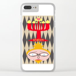bbnyc: shalom with love Clear iPhone Case