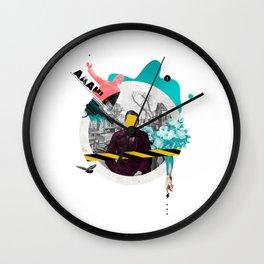 Mental Note #3 Wall Clock