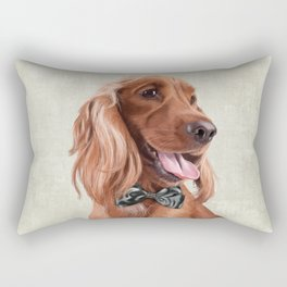 Mr. English Cocker Spaniel Rectangular Pillow