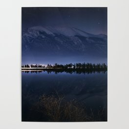Reflective Canmore Poster