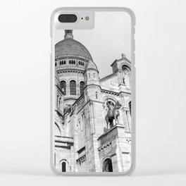 Sacre Coeur Montmartre Paris Clear iPhone Case