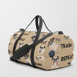 Eat Sleep Train Repeat Duffle Bag