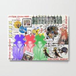 Basquiat Metal Print