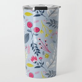 Clea Laine Floal Print Travel Mug