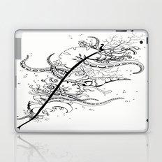 Abstract Art Unique Trending Bird Feather Sea Life Ocean Shells Sand Octopus  Laptop & iPad Skin