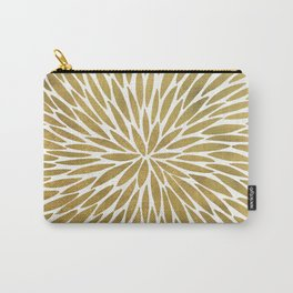Golden Burst Carry-All Pouch