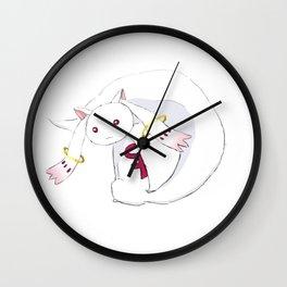 feminist kyubey Wall Clock