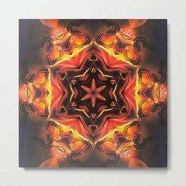 Acrylic Hexagon Metal Print