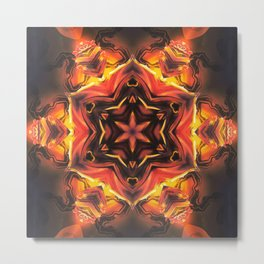 Acrylic Hexagon Metal Print