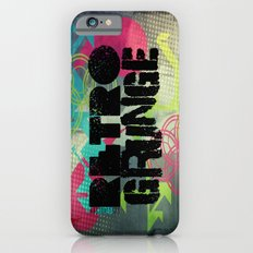 Abstract373 Retro Grunge iPhone 6s Slim Case