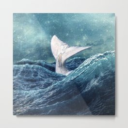 Whale Tale Metal Print