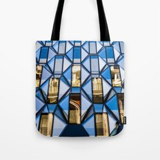 Geometric Glass  Tote Bag
