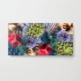 Flower Magic Metal Print
