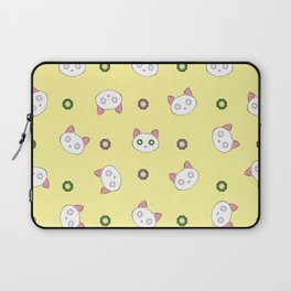 Glamour Cat Yellow Laptop Sleeve