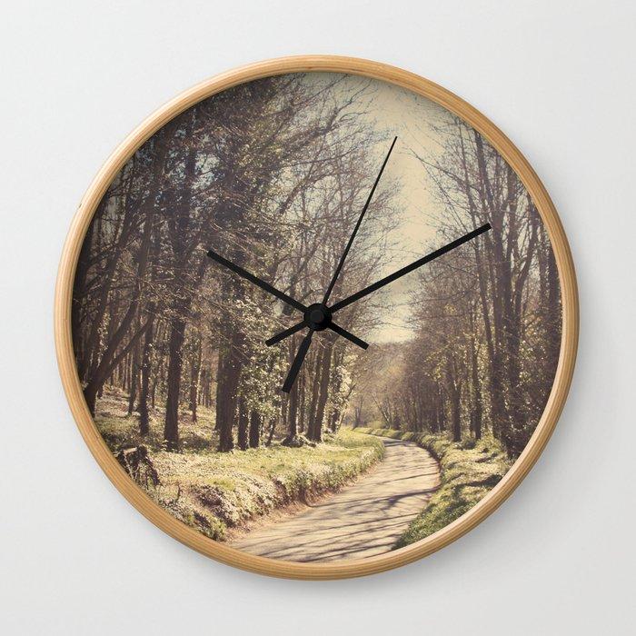 Road ∆ Wall Clock