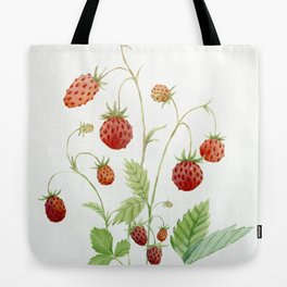 Wild Strawberries Tote Bag