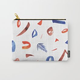 Human lottery vol 3 Abstract Colourful Pattern Carry-All Pouch