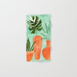 Water My Plants #painting #illustration Hand & Bath Towel