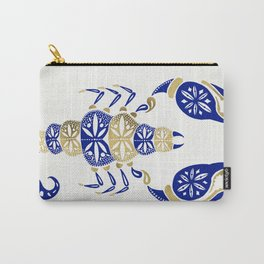 Scorpion – Navy & Gold Carry-All Pouch
