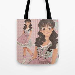 OKTOBERFEST Pink Dirndl Girl Tote Bag