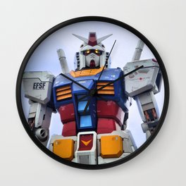 Gundam Stare Wall Clock