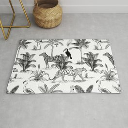 botanical jungle Rug