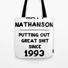 Matt Nathanson Tote Bag