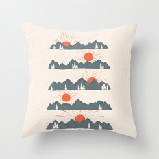 Sunrises... Sunsets... Throw Pillow
