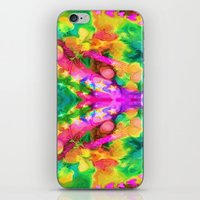 camouflage iPhone & iPod Skins featuring Camouflage by Geni
