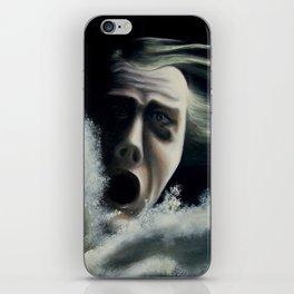 Man overboard iPhone Skin