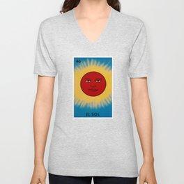 El Sol Unisex V-Neck