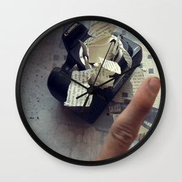A Thousand Words Wall Clock