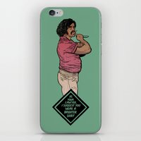 lawyer iPhone & iPod Skins featuring Lawyer by Mikhail Kalinin
