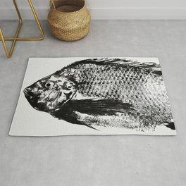 gyotaku - koi fish Rug