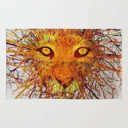 Lion Drip Rug